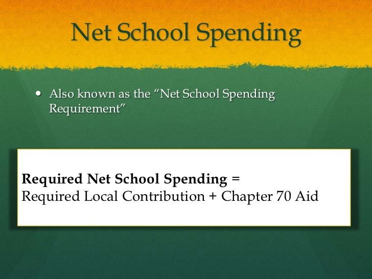 Net School Spending study