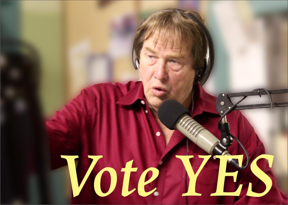 Warren Shaw says Vote YES
